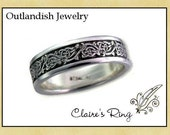 Claires Ring, engraved with 'da mi basia mille'