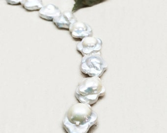 Cultured Freshwater Pearls  Flower Shape Beads