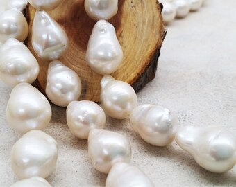 Cultured  Fresh Water Pearls- large baroque