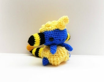 Crochet Mareep Inspired Chibi Pokemon