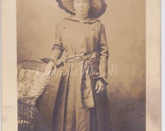 Jamie Jefferson - vintage photo -   African American Woman