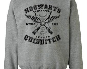 Quidditch Hogwarts Athletics Harry Potter Geek Fan Parody Unisex Sweatshirt