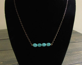 Simple necklace.