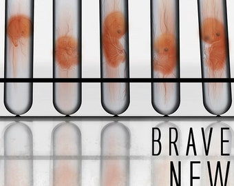 Brave New World Poster - Aldous Huxley