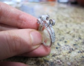 Regal Diamond Engagement Ring Setting, Compass Setting