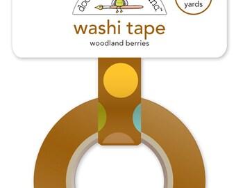 Woodland Berries Washi Tape from Doodlebug Designs