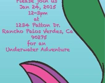 Underwater Adventure Birthday Party