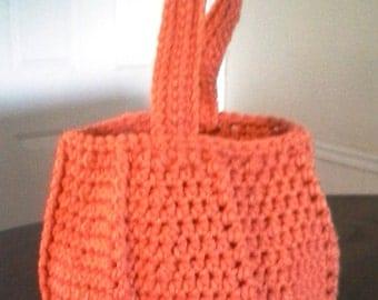 Pumpkin Trick or Treat Basket