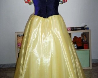 Handmade Princess Snow White inspired costume, Disney Snow White cosplay