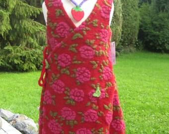 wonderful dress from organic wool