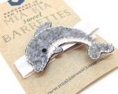 Dolphin Hair Clip Barrette