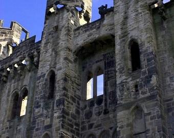 Hylton Castle - Original Fine Art Photograph - Castle