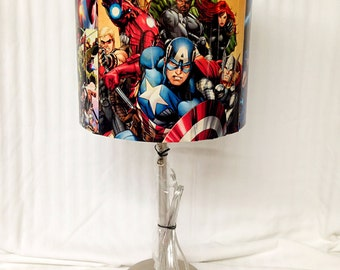 Custom Comic Book Lamp