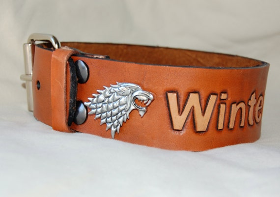 Game Of Thrones Wolf Dog Collar