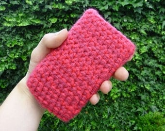 Crochet iPhone 4(S) cover, colorful phone cozy, iphone cozy, smartphone sleeve