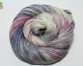Holy Mother of Purl! - DYED TO ORDER- Shawl Length Yarn Skein - Fingering 150g 600yd 2 ply Fingering Yarn 80/20 Superwash Merino/Silk