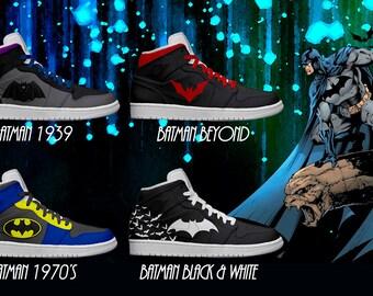 Women's Light Up Batman Shoes: Series 1