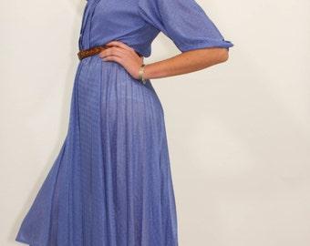 Indigo New Romantics 70's Vintage dress