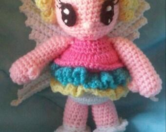 Crochet Fairy Amigurumi Doll Pattern Only
