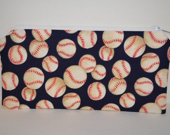 Baseball Pencil Pouch