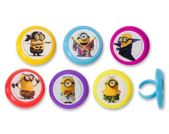 12/ Minions Evolution Cupcake Rings