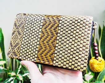 Handmade Thai Bamboo Wallet / Unique Handmade Purse / Tribal Wallet / Bamboo Bag / Unique Wallet / Unique Bag / Ethnic Bag / Ethnic Purse