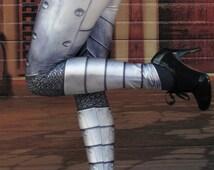 TAFI Plate-Mail Armor Leggings - 2015 Cosplay Platemail Armour 3D Printed Design - Black Milk Galaxy Dance Theatre Costume Yoga Pants
