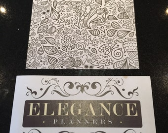 Colouring Planner Pages - A5/Personal/Pocket