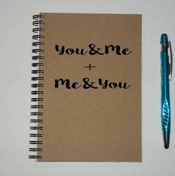 Couples Journal You And Me Me And You 5 By