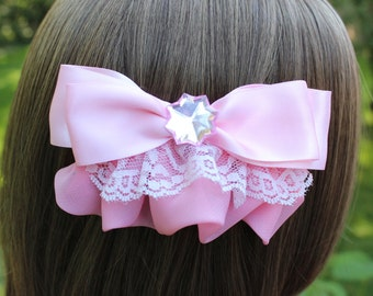 Lace Hair Bow