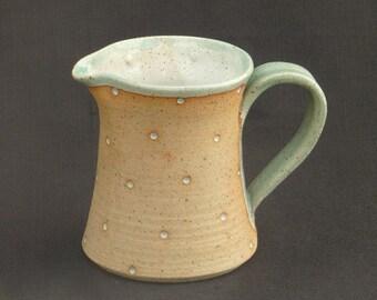 Small Dotty Stoneware Jug