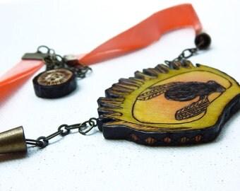 Venus Fly Trap Necklace - Handmade & Eco friendly
