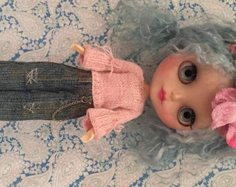 Hand Knitted Jumper/Sweater for Blythe