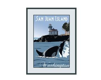Giclee Print: San Juan Island, Washington