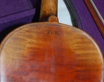 Antique Violin 4/4 with Case and Bow (Patti)