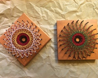 Geometric Pattern String Art