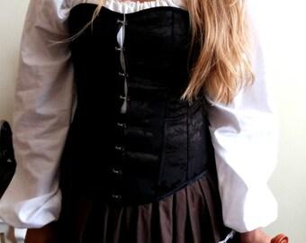 black corset size S-M