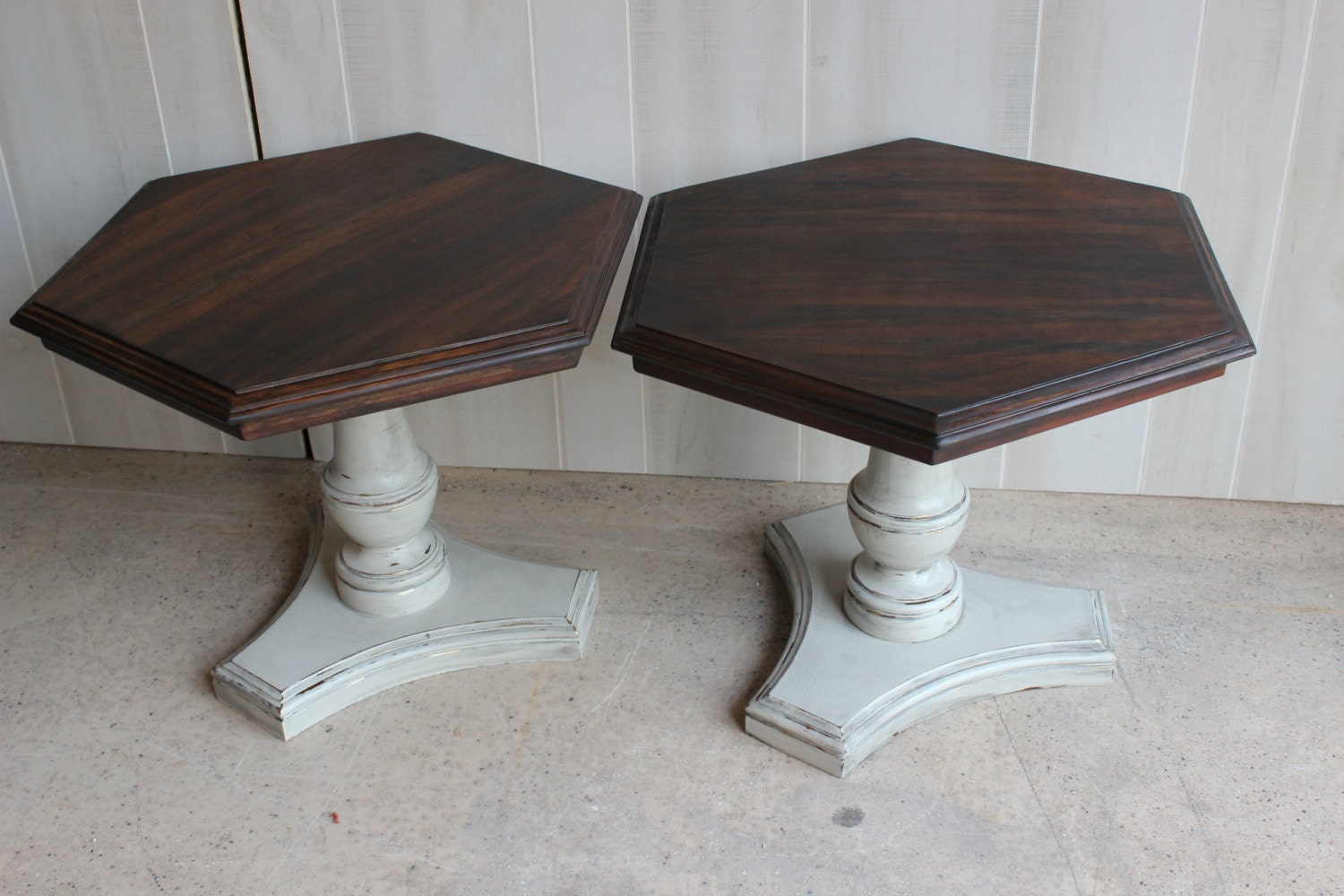 Vintage Coffee Tables Ethan Allen Pedestal By Thrivedesignmarket