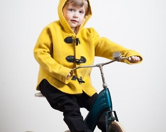 Tirggel - Coat for girls and boys | coat, jacket, duffle coat, dufflecoat, chroemli, switzerland, boys, girls, kids clothing, fall, spring
