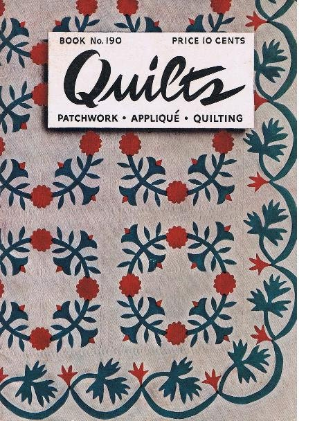 Book Cover Vintage Quilt : Quilts quilting patterns quilt books book no