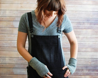 The Willows + Knit Wrist Warmers  + You Choose the Color