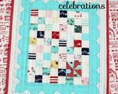 Minnie Mae Mini Quilt - PDF Pattern