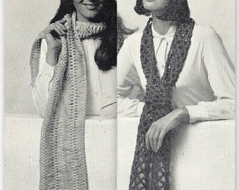 Hats and Scarves Crochet - Hairpin Lace Patterns 723167