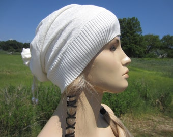 Ivory Lace Wedding Veil Hat Lightweight Spring Hats Slouchy Beanie Genuine Fresh Water Pearls A1202