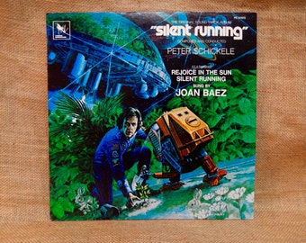 Silent Running...Original Motion Picture Soundtrack - 1978  Vintage Vinyl Record Album