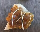 Silver Line Earrings, Lightweight earrings