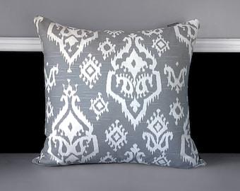 """Pillow Cover - Raji Grey 20"""" x 20"""""""