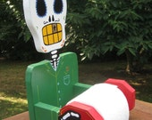 Reserved for andreaalwaysnice Day of the Dead Toilet Paper Holder