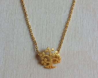Tree of Life Necklace, Gold Tree of Life, Dainty Tree of Life Necklace, Small Tree of Life, Inspirational jewelry