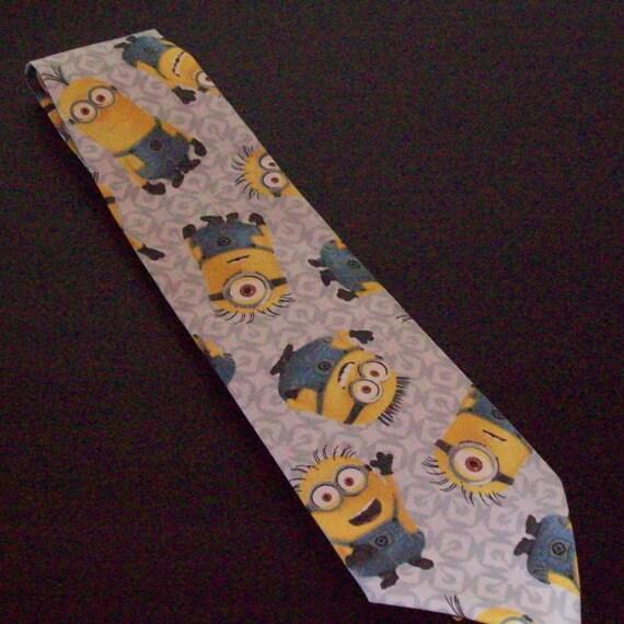 minion tie tie character tie minion necktie